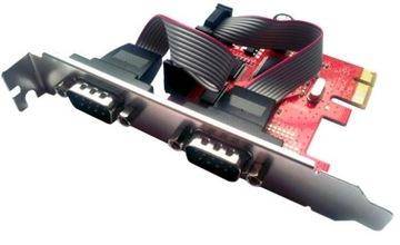 Unitek Контроллер PCI-E, 2x RS-232, Y-7504 +LP В-ва доставка товаров из Польши и Allegro на русском