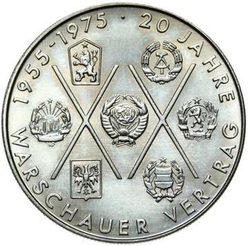 ГДР - 10 Марок 1975 А - ВАРШАВСКИЙ договор - UNC доставка товаров из Польши и Allegro на русском