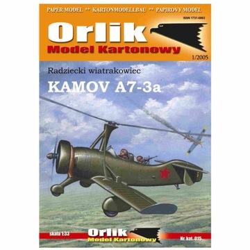 Орлик 015 Советский автожир KAMOV A7-3a 1:33 доставка товаров из Польши и Allegro на русском