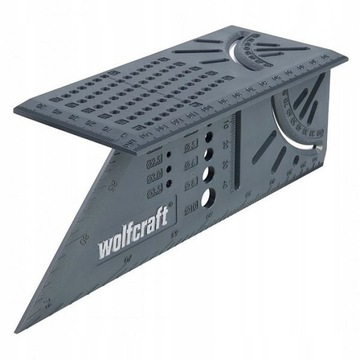 WOLFCRAFT Угольник японский 3D 5208000 доставка товаров из Польши и Allegro на русском