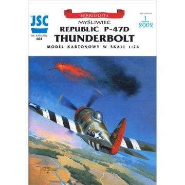 ОАО-604 - истребитель P-47D THUNDERBOLT, 1:24 доставка товаров из Польши и Allegro на русском