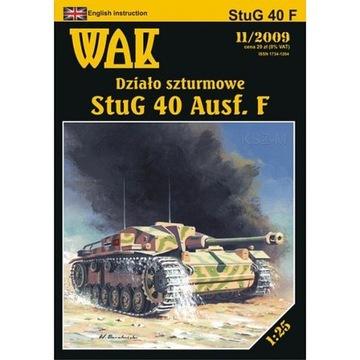ОАК 11/09 штурмовое Орудие StuG 40 Ausf. F 1:25 доставка товаров из Польши и Allegro на русском