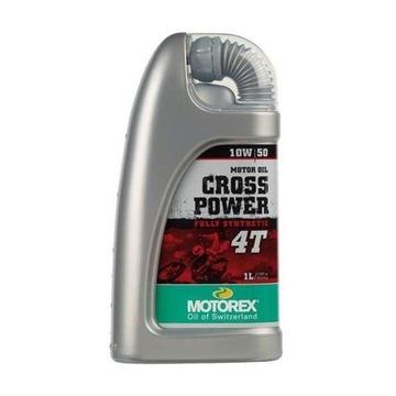 MOTOREX CROSS POWER 10W50 1L OLEJ SYNTETYCZNY