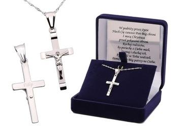 Kríž striebro 925 Krst na pamiatku svätého prijímania VLASTNÝ