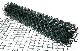 Galvanizovaná šermová mriežka potiahnutá 1,5 m 15 MB