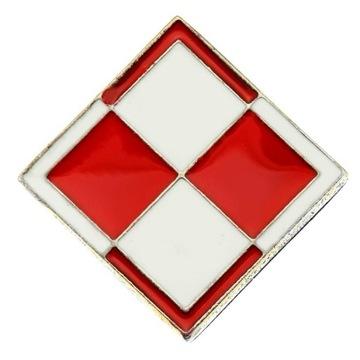 Chessboard Białecrawno Poľský symbol