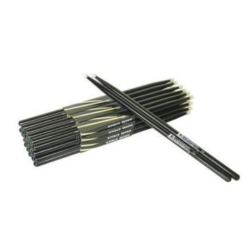Percussion Sticks Black Black Nylon Tip