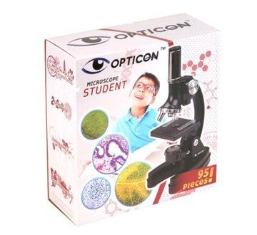 Kovový statív Opticon Student Microscope 1200X