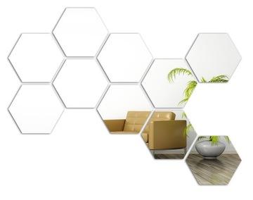 Zrkadlo Hex On Art! Hexagons usporiadajú, ako sa vám páči!