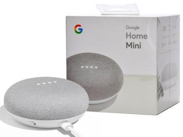 Biely inteligentný reproduktor Google Home Mini Wi-Fi