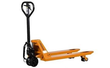 Paletické paletové vozíky s brzdou a podporou