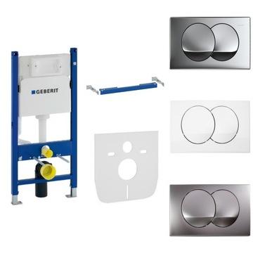GEBERIT DUOFIX BASIC záchodový rám tlačidlo DELTA 20