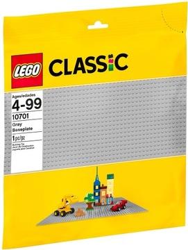 LEGO Classic šedá základová doska 10701
