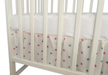 PLOCHA na posteľ 60x120cm MASKOVANIE záclonka