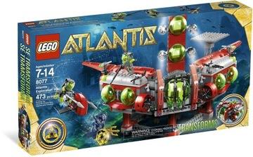 LEGO ATLANTIS 8077 VÝSKUMNÝ PRÍKAZ ATANTIDY JEDINEČNÝ