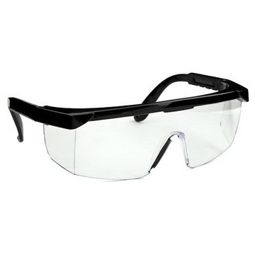 Okuliare Ochranné polykarbonátové okuliare bezfarebné zdravie a bezpečnosť