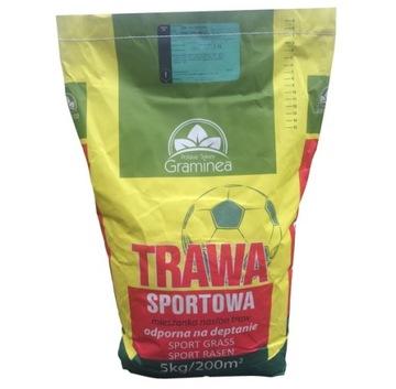 Športové trávne trávy Graminea 15 kg husté semeno