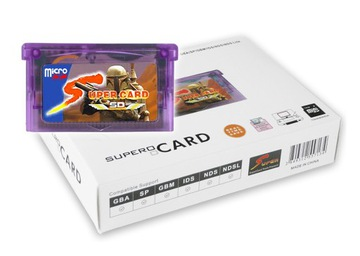 Super Card Supercard Micro SD GBA DS Recorder