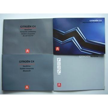 Instrukcja Obsługi CITROEN C4 - 2004/2005 i radio