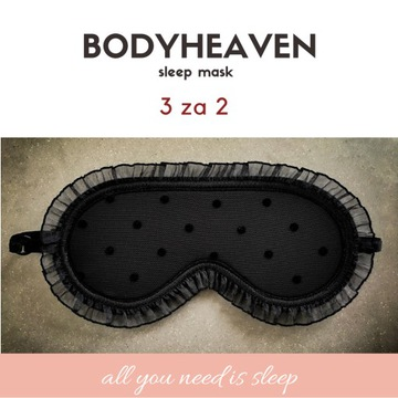 BODYHEAVEN - opaska na oczy do spania, okulary