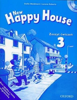 New Happy House 3 Zeszyt ćwiczeń z płytą CD Lorena Roberts, Stella Maidment