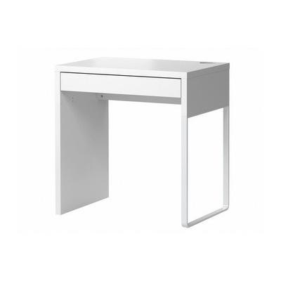 Икеа МИККЕ письменный стол 73x50x75 см с ящиком Белый