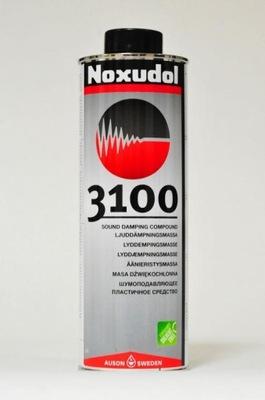 WYCISZANIE SAMOCHODU NOXUDOL 3100 ЦВЕТ CZARNY
