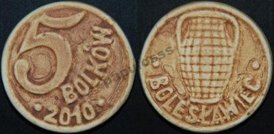 5 Bolków - Bolesławiec - moneta kamionkowa