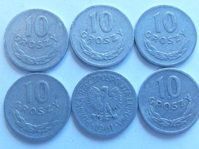 Монета 10 gr 1961 году хороший