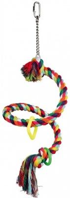 Качели, игрушка спираль для птиц Трикси 50 см