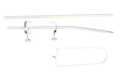 Baldachýn nad postieľku - Podpora rámu strechy. Dvojité upevnenie!