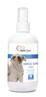 Over зоопарк ANIMAL SOAP жидкость для МЫТЬЕ ЛАП, УХОД за