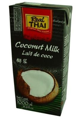 [КС] 12x Молоко Кокосовое 1л Молочко Real Thai