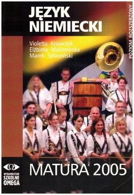 Język niemiecki Matura 2005 Poziom rozszerzony+2CD
