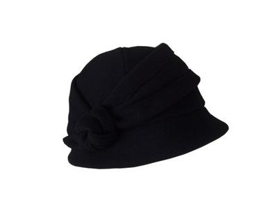 11e60ea46 WEŁNA kapelusz damski czapka damska melania rudy - 5736600820 ...