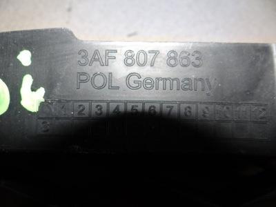 VW Passat B7 Zawieszenie zderzaka,tył,3AF807863;3A