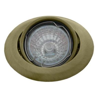 LAMPY STAROŽITNÉ ZLATA HNUTEĽNÝ GU10 LED