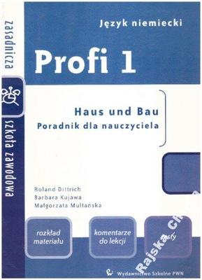 Profi 1 Poradnik dla nauczyciela ZSZ niemiecki NOW