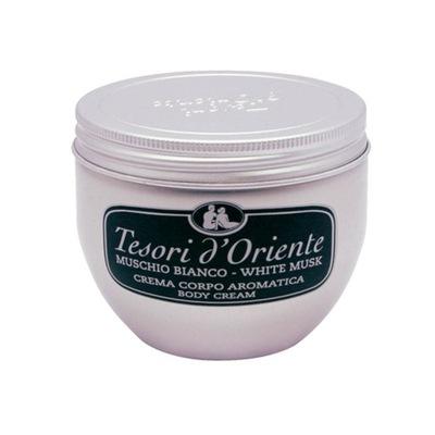 Tesori d'Oriente Białe Piżmo krem do ciała balsam