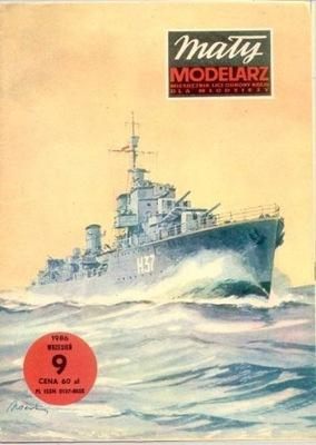 MM 9/1986 Niszczyciel ORP GARLAND
