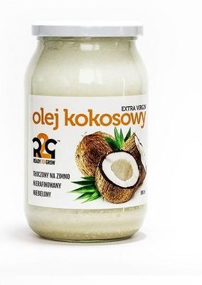 R2G 100 % Natural нерафинированный  кокосовое масло 900ML