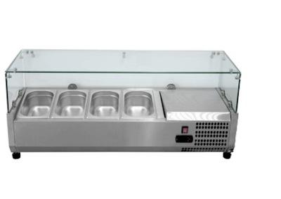 lada witryna nadstawka chłodnicza 120CM na sałatki