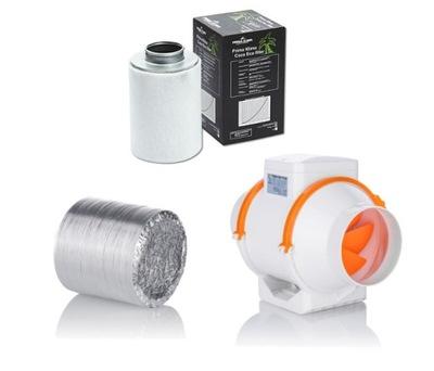 Vetranie nastaviť 405-520m3/h 150 mm growbox FV