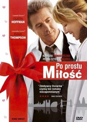 PO PROSTU MIŁOŚĆ Dustin Hoffman DVD FOLIA