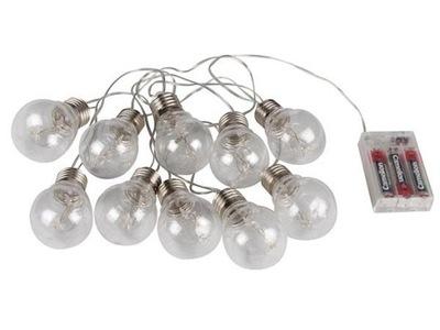 LED svietidlá GIRLANDA - Girlanda dekoracyjna LED 10 żarówek - na baterie