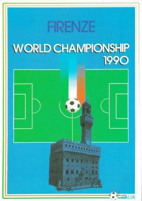 Италия - ФЛОРЕНЦИЯ - МС 1990 - ФУТБОЛ - ЧМ