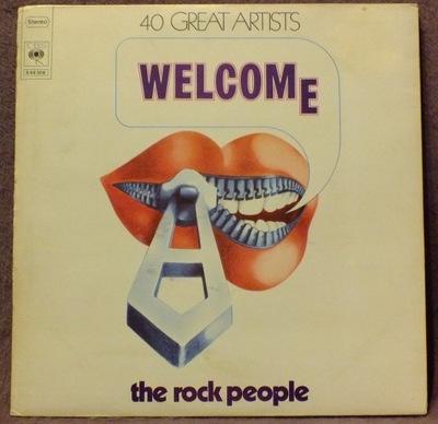 WELCOME - THE ROCK PEOPLE ( Niemen...) 3LP - 1972
