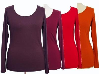 EXPRESSO  bluzka gładka kolory NOWA 42 44 46