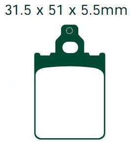 Klocki VESPA PX 125 150 200 LML STAR 125 150 200