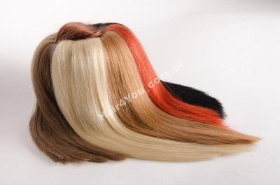 35cm Naturalne Włosy KERATYNA RINGI 0zł pasemka